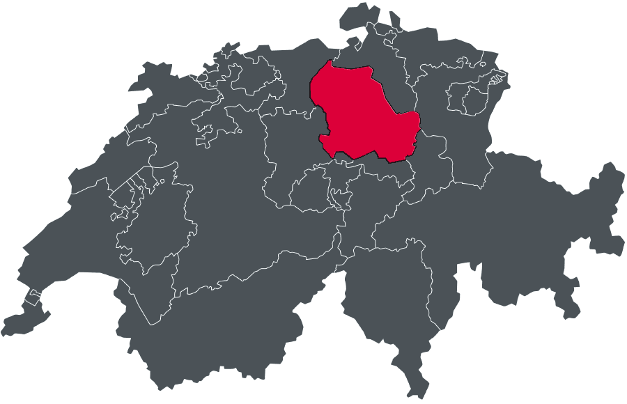 Schweiz Map